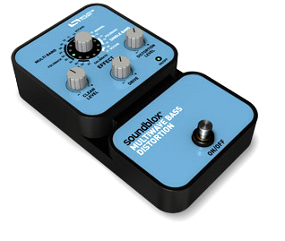 Source Audio SA125 SoundBlox Multivawe Bass Distortion